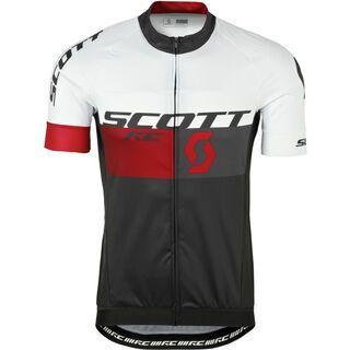 Scott RC Pro s/sl Shirt, black/red - Radtrikot