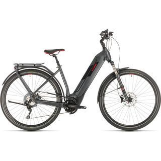 Cube Kathmandu Hybrid EXC 500 Easy Entry 2020, iridium´n´red - E-Bike