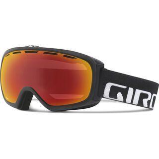 Giro Basis, white wordmark/amber scarlet - Skibrille