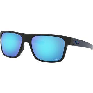 Oakley Crossrange Prizm, polished black/Lens: prizm sapphire - Sonnenbrille