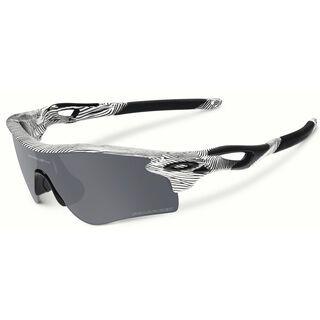 Oakley RadarLock Path Fingerprint inkl. Wechselgläser, polished white/Lens: black iridium polarized - Sportbrille