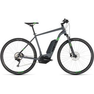 Cube Cross Hybrid Pro 500 2019, iridium´n´green - E-Bike