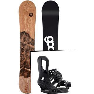 Set: goodboards Wooden 2017 + Burton Cartel (1712700S)