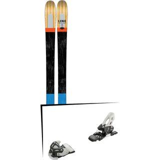Set: Line Supernatural 86 2017 + Tyrolia Attack 11 90 mm, solid black white - Skiset