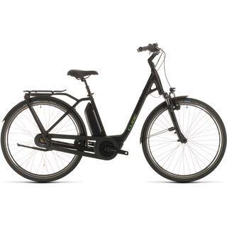 Cube Town Hybrid Pro RT 500 2020, black´n´green - E-Bike