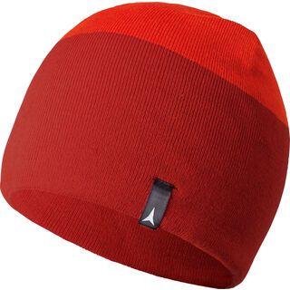 Atomic Alps Reversible Beanie, dark red/bright red - Mütze