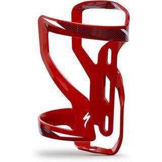 Specialized Zee Cage II Left, red/black/white - Flaschenhalter