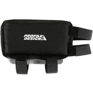 Profile Nylon Zipper E-Pack klein, black - Rahmentasche
