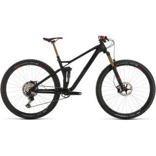 Cube Stereo 120 HPC SLT 29 2020, carbon´n´red - Mountainbike
