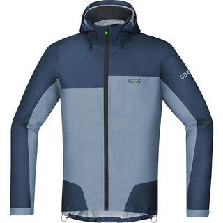 Gore Wear C5 Gore-Tex Active Trail Kapuzenjacke, deep water blue/cloudy blue - Radjacke