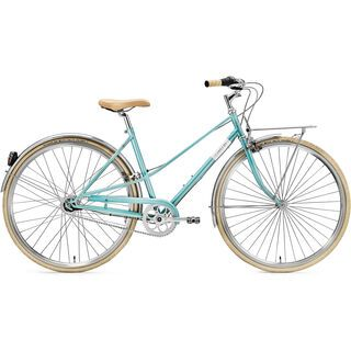 Creme Cycles Caferacer Lady Solo, 7 Speed 2015, turquoise - Cityrad