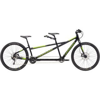 Cannondale Tandem 29 2017, black/acid green - Mountainbike