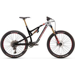 Rocky Mountain Altitude Carbon 90 2018, black/grey/red - Mountainbike