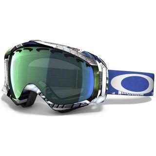 Oakley Crowbar JP Auclair, Slideshow/Emerald Iridium - Skibrille