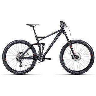Cube Stereo 160 HPA Race 27.5 2015, black anodized - Mountainbike