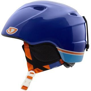 Giro Slingshot, Blue Winni - Snowboardhelm