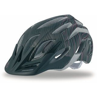 Specialized Womens Andorra, Black/Pink - Fahrradhelm