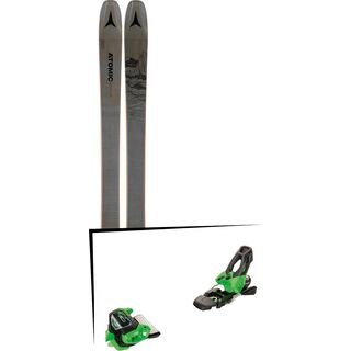 Set: Atomic Bent Chetler 100 2019 + Tyrolia Attack² 11 GW green