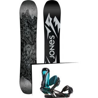 Set: Jones Ultra Mountain Twin 2019 + Ride KS (1923794S)