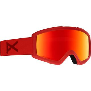 Anon Helix 2 Sonar inkl. WS, red/Lens: sonar red - Skibrille