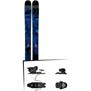 K2 SKI Set: Shreditor 120 2015 + Salomon Warden MNC 13