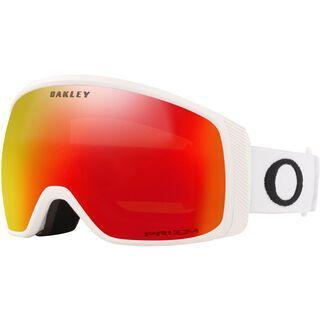 Oakley Flight Tracker XM Prizm, matte white/Lens: torch iridium - Skibrille