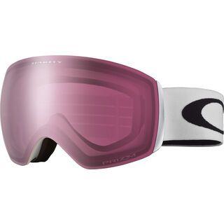 *** 2. Wahl *** Oakley Flight Deck XM Prizm, matte white/Lens: prizm rose - Skibrille |