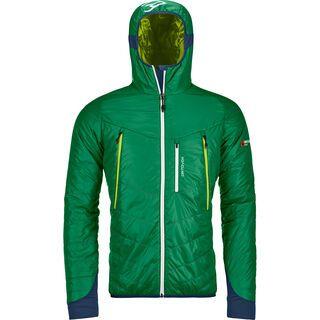 Ortovox Swisswool Light Tec Piz Boè Jacket M, irish green - Thermojacke