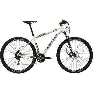 Cannondale Trail 27.5 4 2015, white/black/green - Mountainbike