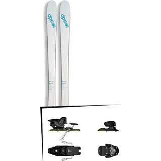 DPS Skis Set: Uschi 85 Pure3 2016 + Salomon Warden MNC 13