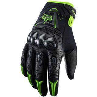 Fox Bomber Glove, black/green - Fahrradhandschuhe