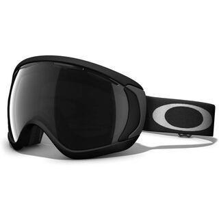Oakley Canopy, Matte Black/Dark Grey - Skibrille