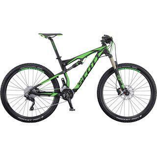 Scott Spark 750 2016, black/green - Mountainbike