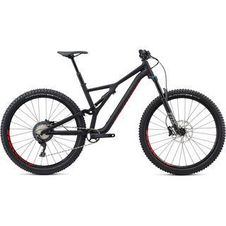 Specialized Stumpjumper Comp Alloy 29 2018, black/flo red - Mountainbike