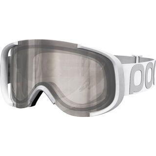POC Cornea, hydrogen white/Lens: bronze silver mirror - Skibrille