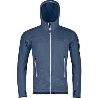 Ortovox Merino Fleece Light Hoody M, night blue - Fleecejacke