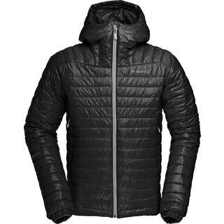Norrona falketind PrimaLoft100 Hood Jacket, caviar - Thermojacke