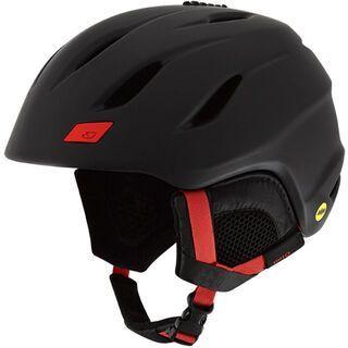 Giro Nine MIPS, black bright red - Skihelm