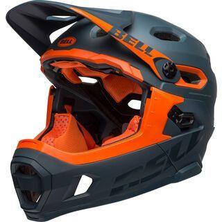 Bell Super DH MIPS, slate/orange - Fahrradhelm
