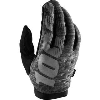 100% Brisker Cold Weather Glove, heather grey - Fahrradhandschuhe