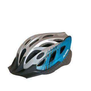 Alpina Tour 3, silver-blue - Fahrradhelm