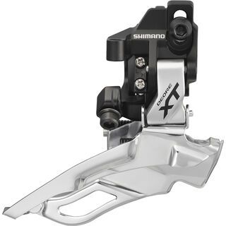 Shimano Deore XT FD-M781 3x10 Down Swing - Direct-Mount, silber - Umwerfer