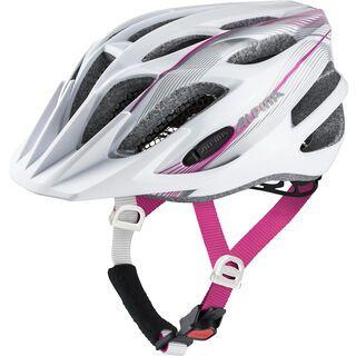 Alpina FB Jr. 2.0 Flash, white-pink-silver - Fahrradhelm