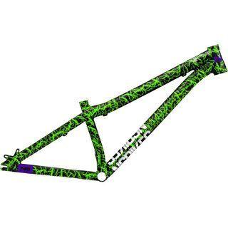 NS Bikes Decade Frame 2018, zombie green - Fahrradrahmen