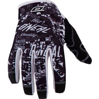 ONeal Jump Gloves, black/white - Fahrradhandschuhe