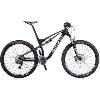 Scott Spark 710 2016, black/white/red - Mountainbike