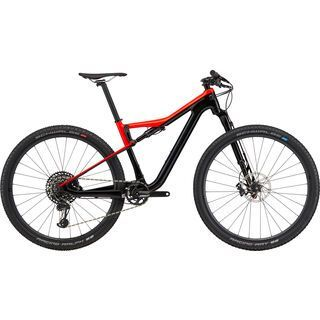 Cannondale Scalpel-Si Carbon 3 2020, acid red - Mountainbike