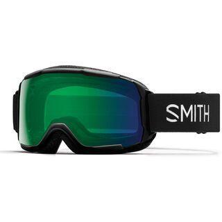 Smith Grom, black/Lens: chromapop everyday green mirror - Skibrille