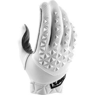 100% Airmatic Glove, white - Fahrradhandschuhe