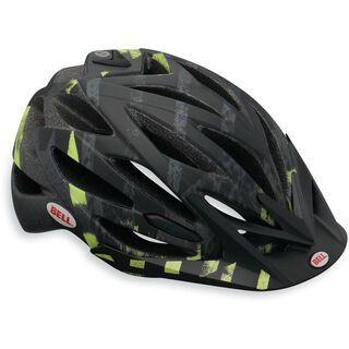 Bell Variant, matte black/green line change - Fahrradhelm